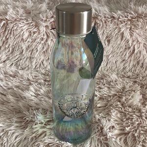 Starbucks Iridescent Recycled Glass bottle
